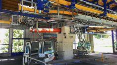 Technik Saas Grund - Kreuzboden @saasgrund #suisse #schweiz #technique and #sunshine #ropeway #rope #leitnerropeways #gangloff # #cabins #gondelbahn ##seilbahn #kabinenbahn #station #hohsaas #seilbahntechnik more #facts in Bio