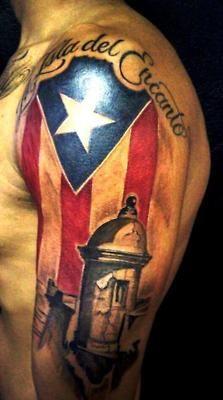 Tatto en pinterest puerto rico tatuajes tribales y arte for Puerto rican tattoo