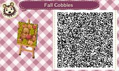 """kelseycrossing: """"SOURCE! These are the paths I use in Macaroon! All rights to the original owner I just recolored these to match September -October in ac, I also made a more grassy version! """""""