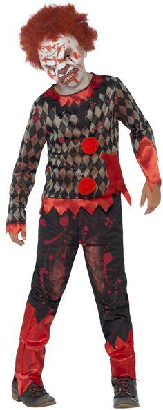 SCUOLA Zombie Boy /& Girl famiglia Halloween Vestito Da Cheerleader Horror