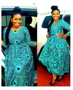 Ankara maxi dress African print dress Vacation by AfrowearHouse