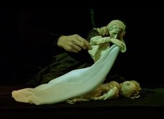 """A beautiful scene with puppets from the French film """"The Double Life of Veronique"""" (photo links to clip) Puppeteer and maker was Bruce Schwartz."""
