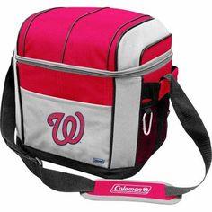 Coleman MLB Washington Nationals 24-Can Soft Cooler, Red