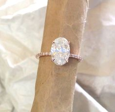 BEAUTIFUL HAND MADE ENGAGEMENT RING. Prices include ring and stone together. CENTER GEM: 9x7 mm oval cut forever brilliant moissanite