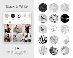 Black And White Instagram, Gray Instagram, Instagram Design, Instagram Ideas, Instagram Feed, Instagram Story, Feed Black, Hight Light, Instagram Highlight Icons