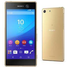 """Extra Smartphone Sony Xperia M5 Dourado Tela 5"""", Dual Chip,Câmera 21,5MP,4G, Octa-core de 2GHZ -> R$ 1.614"""