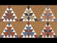 ▶ Grand Tetons part 2 Quilt video by Shar Jorgenson - YouTube