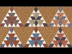 ▶ Grand Tetons part 2 Quilt video by Shar Jorgenson - YouTube