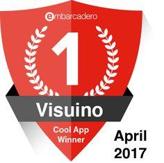 Visuino Cool App Winner  #Visuino #Delphi #Arduino