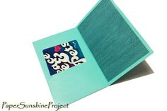 Paper Sunshine Project - How To - Instructions to create Envelope Gift Card Holders