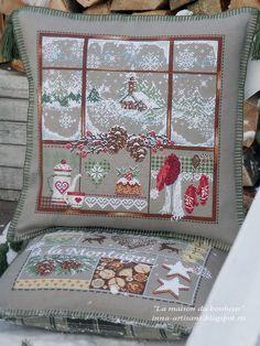 Cross Stitch Christmas Ornaments, Xmas Cross Stitch, Cross Stitch Needles, Christmas Embroidery, Christmas Cross, Cross Stitching, Cross Stitch Embroidery, Embroidery Patterns, Cross Stitch Designs