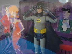 Batusi Batman 1966 TV Series SDCC2013 Exclusive Figure Adam West Mattel Shag New
