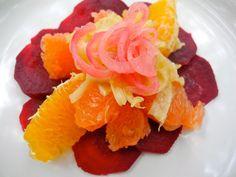 Beet Orange Salad with Grapefruit, Fennel & Pickled Onion by eatrelatelove #Salad #Grapefruti #Beet #Fennel #Onion #eatrelatelove