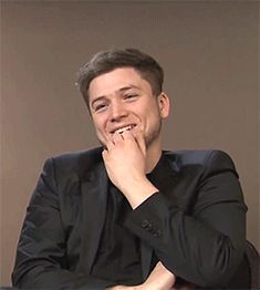 He is literally one of the most adorable people in the world! I'm being completely serious!