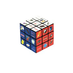 The original and classic Rubiks Cube is a bestseller in the promotional market. Overall size 58mm x 58mmx 58mm A unique and fun product thats sure to be kept for years to come. The ultimate in promotional gifts.