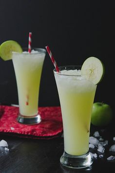 Sour Green Apple, Ginger & Vodka Spritzer