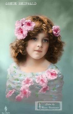 Grete Reinwald Shabby Vintage, Vintage Ephemera, Vintage Girls, Vintage Love, Vintage Beauty, Vintage Children, Vintage Postcards, Vintage Prints, Vintage Pictures