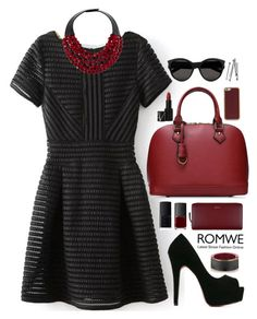 """Romwe 7"" by scarlett-morwenna ❤ liked on Polyvore featuring Paul Smith, NARS Cosmetics, ID-INFINITE, Marni, Fairchild Baldwin, Yves Saint Laurent, BOBBY, women's clothing, women and female"