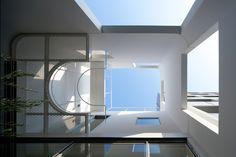 Urban Architecture Office IWM house courtyard