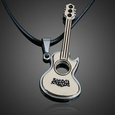 White And Black Excellent Quality Jewelry & Watches Reasonable Harmony Jewelry Fender Stratocaster Necklace