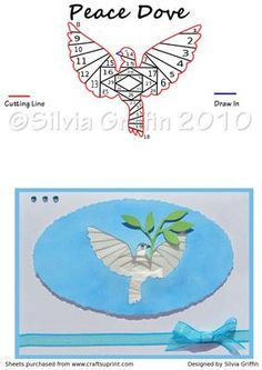 Peace Dove on Craftsuprint - View Now!