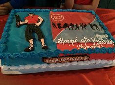 Team fortress cake