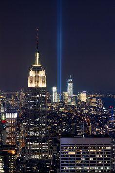 2012 Tribute in Light 9/11 Memorial Preview #3