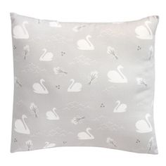Image of New ! Coussin 30x30 / Cygnes