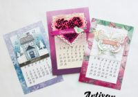 Swimming In Stamps Calendar Ideas, Calendar Pages, Desktop Calendars, Small Alphabets, Alphabet Stamps, Largest Butterfly, Stamp Pad, Basic Grey, Snowflakes