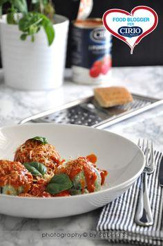 Ricetta Gnudi di ricotta e spinaci con salsa di pomodorini | Cirio by http://duebiondeincucina.blogspot.it/