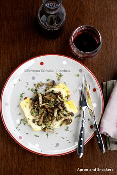 Apron and Sneakers - Cooking & Traveling in Italy: Polenta con Formaggio Fuso e Funghi (Polenta with Melted Cheese & Mushrooms) and the Dolomites