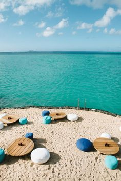 Paradise Cove in Mauritius.Click to shop Matthew Williamson beachwear.