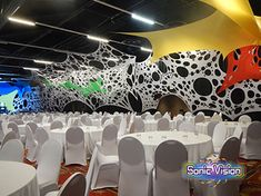 Sonic Vision is a decor company that manufactures, sells and hires Stretch Decor, Stretch Sets, Stretch Tents, Party Decor and Lighting. Decor for hire or sale! We are the Stretch Decor Manufacturer.