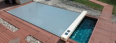 Abdeckplane für alle 4 Jahreszeiten | Abrisud Schwimmbadüberdachung – Hersteller Schwimmbadüberdachung Plunge Pool, Pool Water, Cool Pools, Swimming Pools, Fabricant, Hot Tubs, Gardens, Covered Pool, Parking Lot