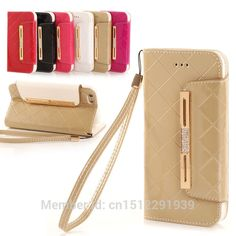 Cheap case plus, Buy Quality case for directly from China case for apple Suppliers: eFFelon Glossy Flip Leather Wallet Cover Case for APPLE iPhone 6 7 plus s plus Bag cases with Luxury Stand Iphone 5 6, Apple Iphone 6, 6 Case, Leather Wallet, Luxury, Cover, Bags, Stuff To Buy, Handbags