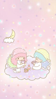 My Melody Wallpaper, Sanrio Wallpaper, Trippy Wallpaper, Star Wallpaper, Kawaii Wallpaper, Disney Wallpaper, Iphone Wallpaper, Hello Kitty Art, Hello Kitty My Melody