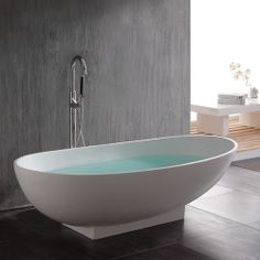 This hack is a new twist on the many wonderful Billy Besta built in projects already on IKEA Hackers. Unique because it combines Besta with Billy frames Small Soaking Tub, Japanese Soaking Tubs, Solid Surface, Home Interior, Bathroom Interior, Interior Decorating, Decorating Ideas, Craft Ideas, Japanese Bathroom