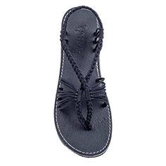 Plaka Flat Summer Sandals For Women Seashell Review