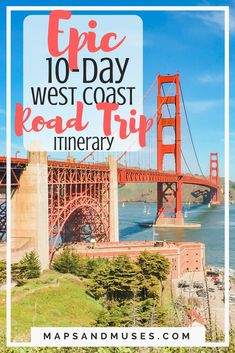 This is my epic 10-day west coast road trip itinerary. It includes everything I planned for a road trip to California and Nevada, plus some of my tips. Get inspiration for your next road trip here: https://www.mapsandmuses.com/west-coast-road-trip-itinerary/ | West Coast Road Trip | Road Trip Itinerary | California Travel | Nevada Travel | Las Vegas | Los Angeles | San Francisco | United States Travel #roadtrip #california #itinerary #losangeles #lasvegas #sanfrancisco via @mapsandmuses