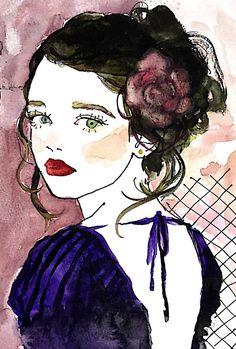見返り美人,土屋みよ,miyo-tsuchiya,黒ワンピース,ドレス