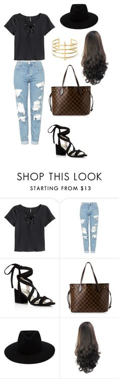 """""""street style"""" by fashionblogger2122 on Polyvore featuring H&M, Topshop, Kenneth Cole, Louis Vuitton, rag & bone and BauXo"""