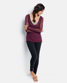 Pointelle Sweater Hoodie | Womens Sweaters & Jackets