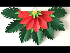 Wall Decoration ideas | Paper craft ideas for wall hanging | Paper Flower wall hanging Wall - YouTube Hanging Flower Wall, Paper Flower Wall, Paper Flowers, Origami Wall Art, Paper Crafts Origami, Hanging Paper Decorations, Flower Decorations, Paper Quilling Cards, Diy Flowers
