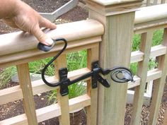 Forged gate latch