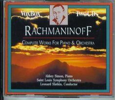 Rachmaninoff: The Complete Works For Piano & Orchestra   CD 6845   http://catalog.wrlc.org/cgi-bin/Pwebrecon.cgi?BBID=7659323