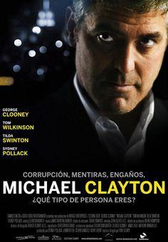 2007. Dir: Tony Gilroy. En un importante bufete neoyorkino trabaja Michael Clayton aunque no ejerce de abogado. Su tarea es la de hacer desaparecer todos los trapos sucios de los clientes de su empresa. En #BibUpo http://athenea.upo.es/record=b1416245