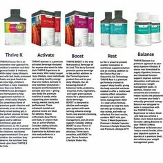 Thrive Plus Line Products Create A Free Account At www.karlamiles.le-vel.com