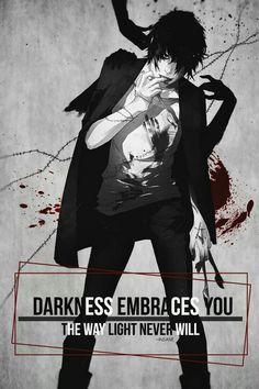 L'obscurité vous a embrassé comme la lumière ne le fera jamais