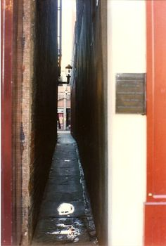 World's narrowest street Exeter England