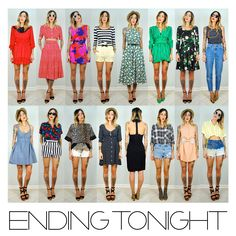 . VINTAGE IS THE NEW BLACK .: Search results for ending tonight
